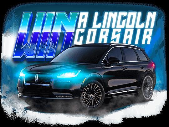 Lincoln Corsair Giveaway