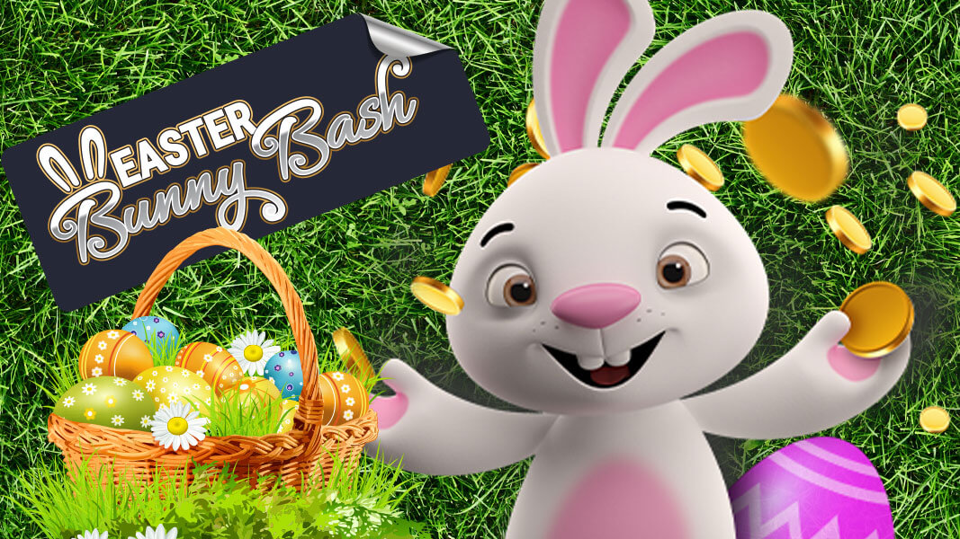 Jackpot Wheel Online Casino brings you the Easter Bunny Bash