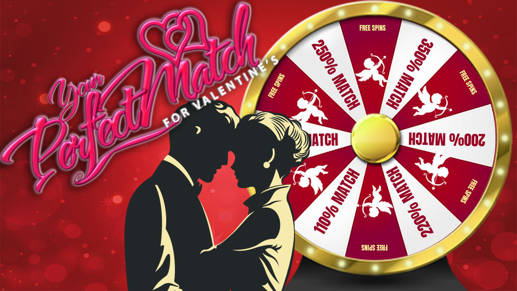Lucky Month of Love at Jackpot Wheel Online Casino