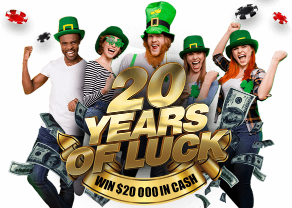 Celebrate 20 Years of Luck
