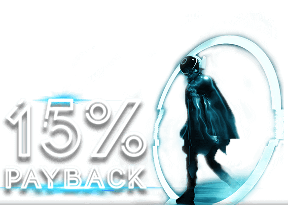 15% Bonus Payback on Bitcoin
